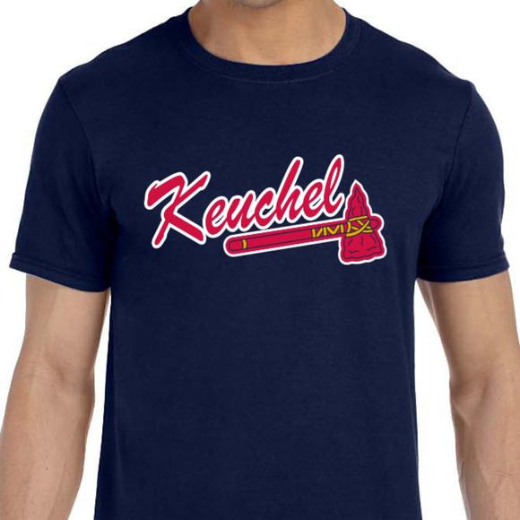 huge selection of 4d2b0 97058 Atlanta Braves Dallas Keuchel Shirt NWT